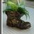 Kvetináč topánka / Hnedá