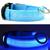 LED svietiaci obojok pre psíka | Veľkosť: S | Modrá