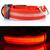 LED svietiaci obojok pre psíka | M | Oranžová