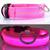 LED svietiaci obojok pre psíka | S | Ružová