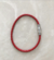 Aurora 75086 - strieborný náramok 18cm | Červená