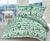 Bavlnené posteľné obliečky s vianočným vzorom (zelená)