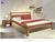 Drevená posteľ Roman/orech svetlý 160x220cm