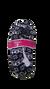 Dámske balerínkové papuče (zimný vzor) | 35-38 | Čierna