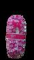 Dámske balerínkové papuče (zimný vzor) | 35-38 | Ružová