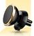 Otočný magnetický držiak na mobil do mriežky ventilátoru zlatý
