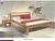 Drevená posteľ Roman/prírodná 160 x 220cm