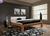 Drevená posteľ Jana/wenge 160 x 200 cm