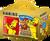 Darčekové balenie Haribo medvedíkov - 395 g + červený hrnček