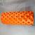 VEľKÝ MASÁŽNY VALEC ROLLER CROSSFIT JOGA FITNESS Oranžový
