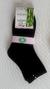 6 párov Dámske ponožky s bambusový vláknom | 35-38 | Čierna