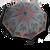Automatický dáždnik značky Labrella (Červená orchidea)
