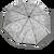 Automatický dáždnik značky Labrella (Kapok)