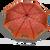 Automatický dáždnik značky Labrella (Pomegranate)