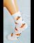 Bláznivé dámske ponožky Pizza   36-39   Krémová