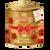100 g Sypaný vianočný čaj časť (zlatý)