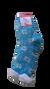 Jemné ovčie ponožky s hebkou podšívkou | Veľkosť: 35 - 38 | Modrá