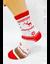 Bláznivé dámske ponožky Snehová vločka | Veľkosť: 37 - 40 | Biela