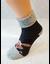 Bláznivé dámske froté ponožky Veselý sob | Veľkosť: 36 - 40 | Tmavosivá