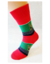 Bláznivé pánske ponožky Sob | Veľkosť: 40 – 43 | Červená