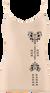 Dámske bambusové tielko (Srdce) | Veľkosť: S/M | Béžová