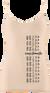 Dámske bambusové tielko (Čičmany pás) | Veľkosť: S/M | Béžová