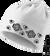 Praktická fleecová čiapka a nákrčník 2v1 (Vtáčiky) | Biela