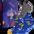 3 ks Darčekový set klasických ponožiek (zvieratká)   Veľkosť: 35-38