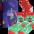 3 ks Darčekový set klasických ponožiek (Vianoce 3)   Veľkosť: 35-38
