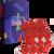 3 ks Darčekový set klasických ponožiek (Vianoce)   Veľkosť: 35-38