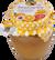 500 g Lekvár s medom (pomarančový)