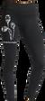 Dámske dlhé legíny   Veľkosť: S   Čierna / maky
