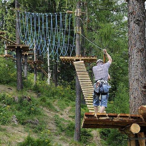 Veveričí lanový park