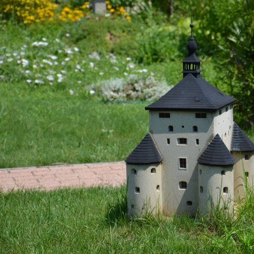 Park miniatúr v Podolí