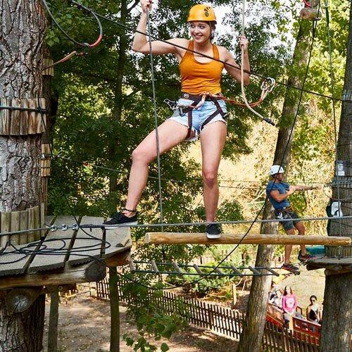 Adrenalínový park Zamárdi