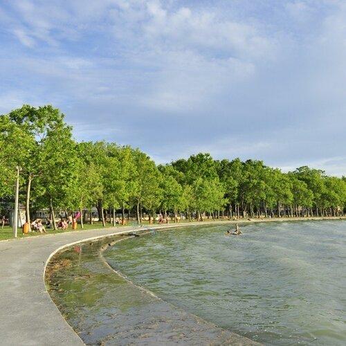 Pláže Balatonföldvár