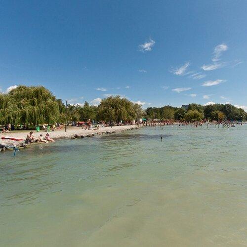 Pláže Balatonalmádi