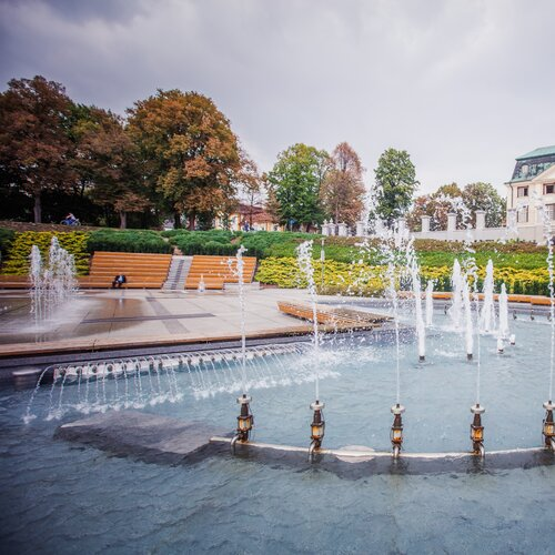 Multimediálna fontána v Rzešove