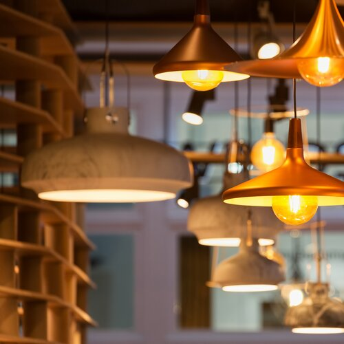 Múzeum lámp - Zsámbék
