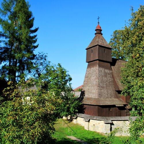 Drevené kostolíky - Hervatov
