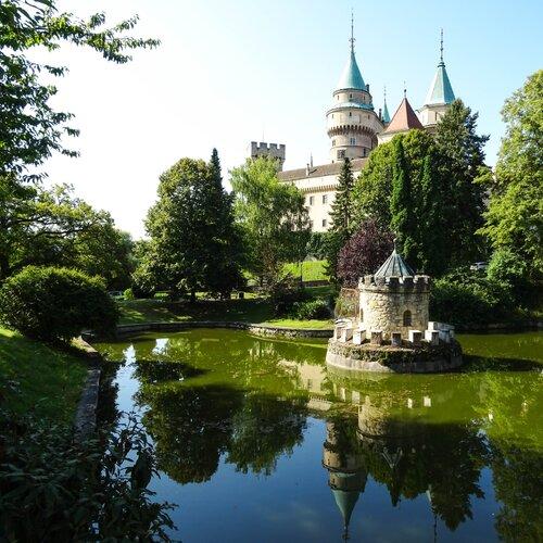 Zámocká záhrada v Bojniciach