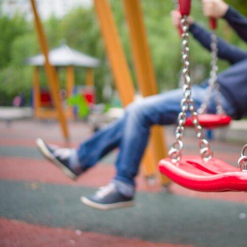 Detské ihrisko v bioparku Ostredky