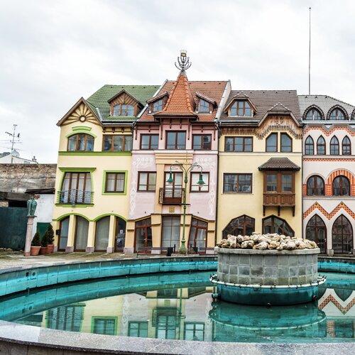 Námestie Európy v Komárne