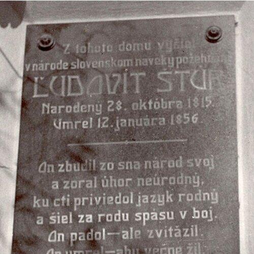 Rodný dom Ľudovíta Štúra a Alexandra Dubčeka