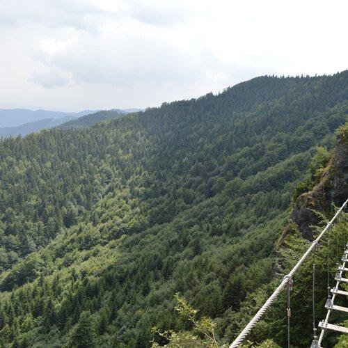 Via ferrata Komín na Skalke pri Kremnici
