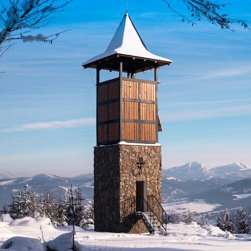 Rozhľadňa na Hladkom vrchu