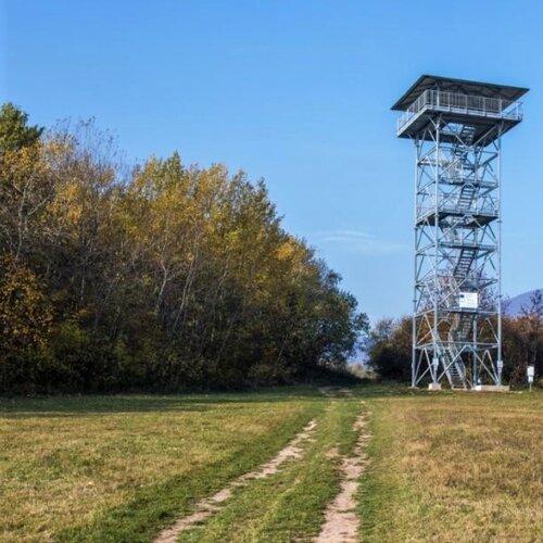 Vyhliadková veža v Zlatníku