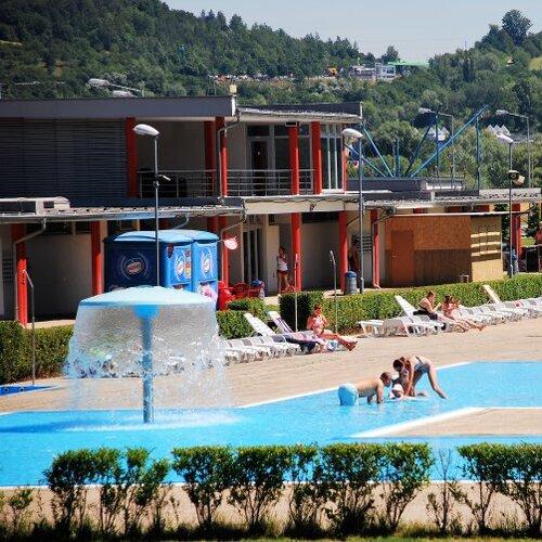 Letné kúpalisko na Ostrove v Trenčíne