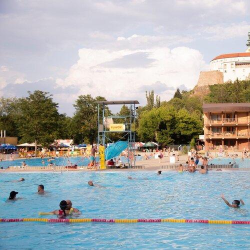 Letné kúpalisko v Nitre