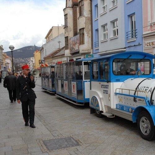 Turistický vláčik Nitriansky Expres